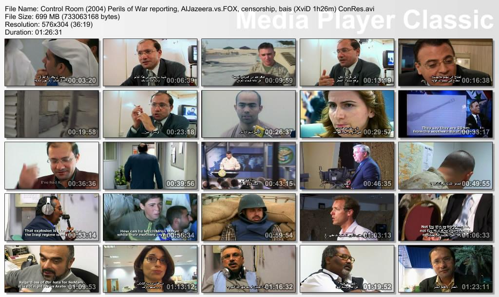 Control Room (2004) Al-Jazeera vs. Fox Thumbs-ControlRoom
