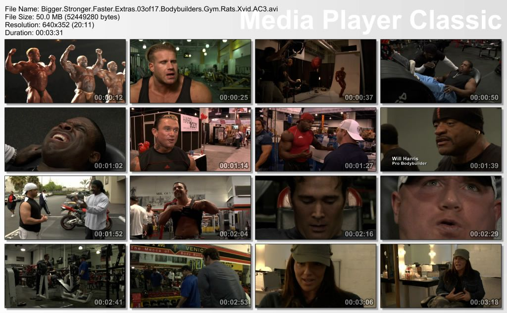 Bigger, Stronger, Faster (2008) plus Extra Thumbs-Extras03of17BodybuildersGymRats