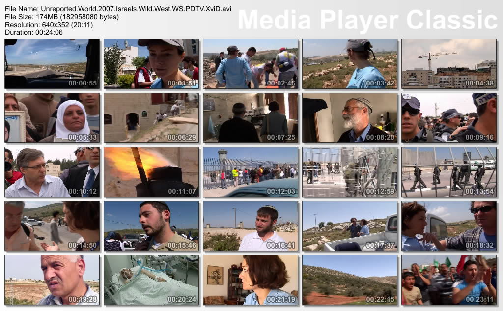 Unreported.World.2007.Israels.Wild.West.WS.PDTV.XviD Thumbs-UnreportedWorld