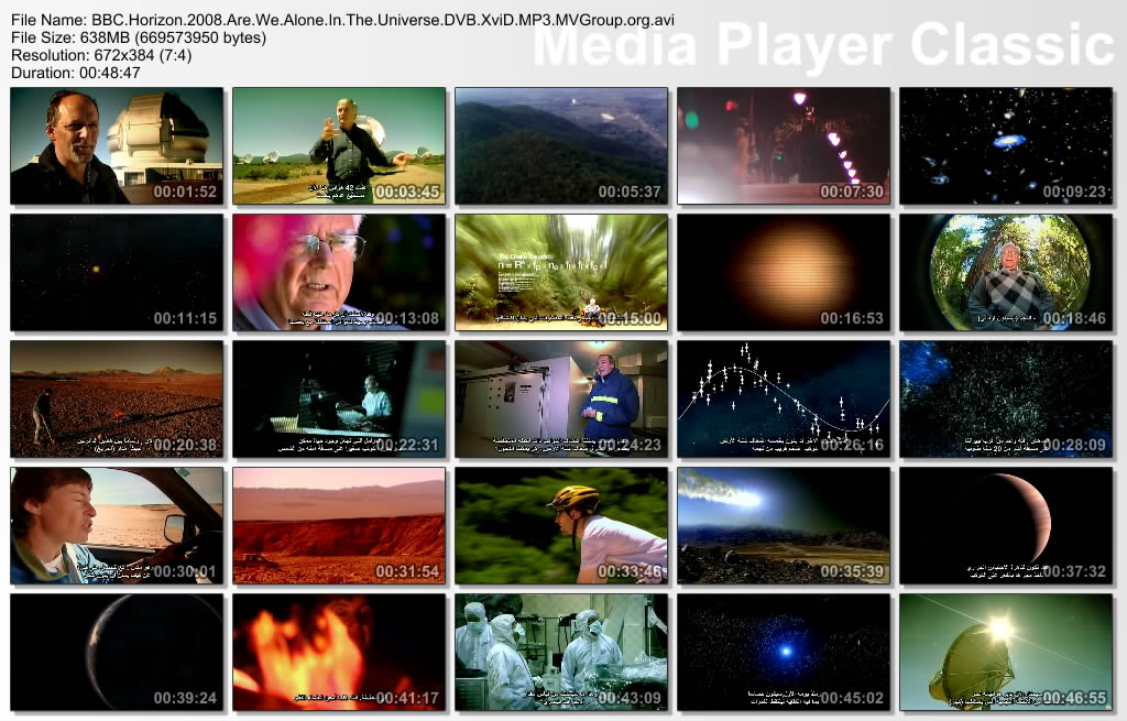BBC Horizon : Are We Alone in The Universe (2008) Docu Thumbs20090702193805