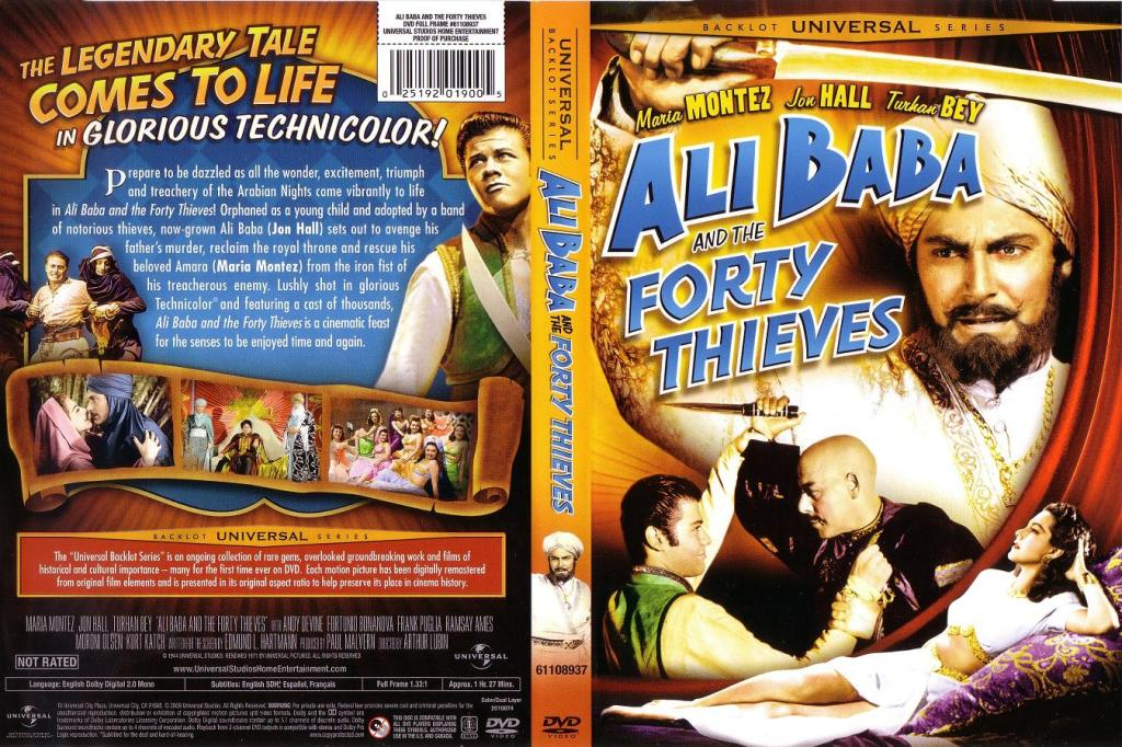 Ali Baba And The Forty Thieves (1944) Sirius Share AliBabaDVD