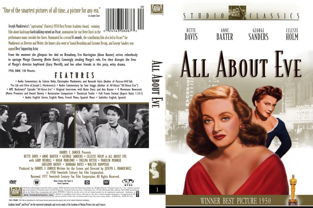 All About Eve (1950) Joseph L. Mankiewicz AllAboutEve-DVDcover