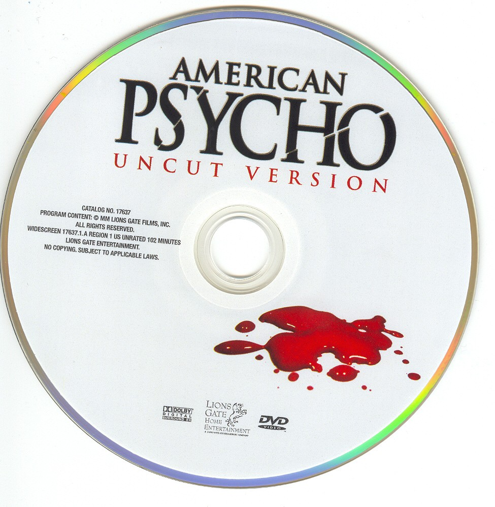 American Psycho Uncut Killer Collector's Edition COMPLETE DVD Rip by vladtepes3176 AmericanPsychoUncutDVD