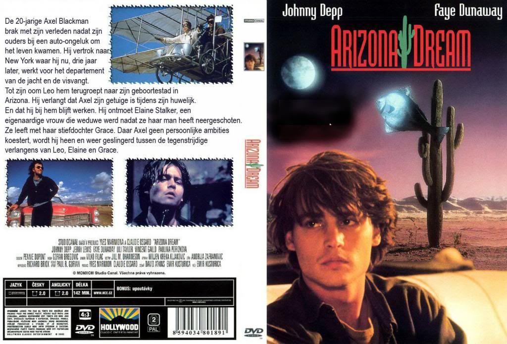 Arizona Dream (1992) Emir Kusturica ArizonaDream-DVDcover
