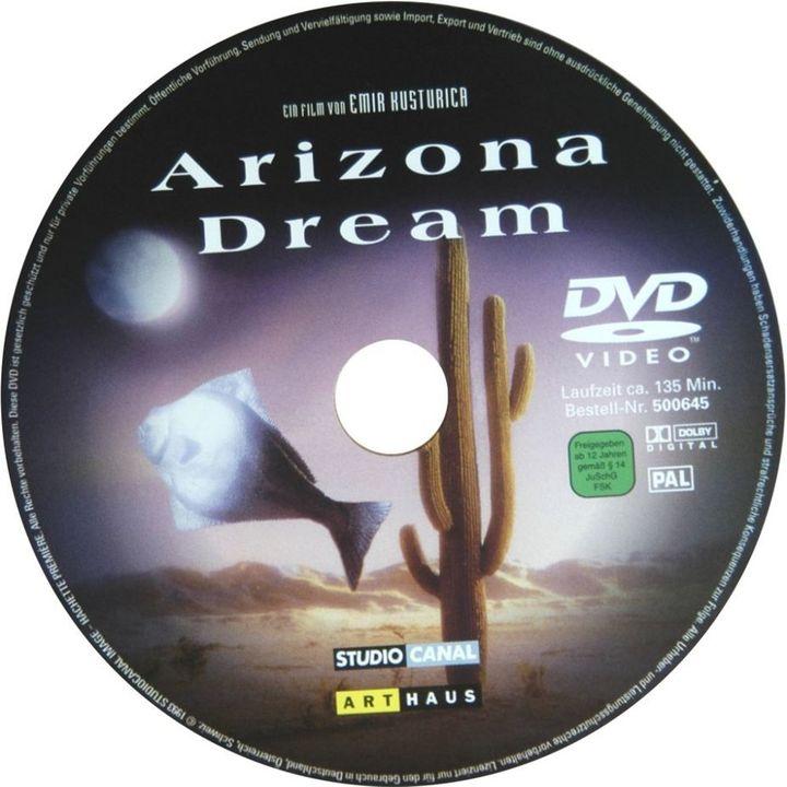 Arizona Dream (1992) Emir Kusturica ArizonaDream-DVDsticker