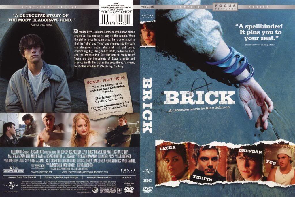 Brick (2005) Joseph Gordon-Levitt Brick-DVDcover