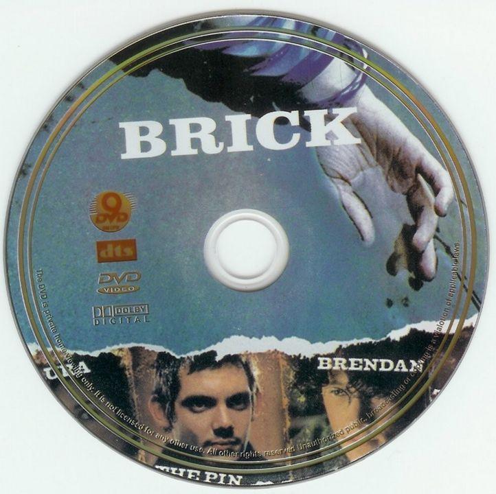 Brick (2005) Joseph Gordon-Levitt Brick-DVDsticker