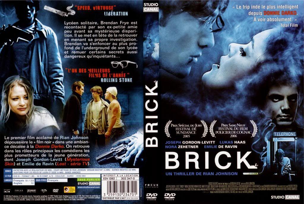 Brick (2005) Joseph Gordon-Levitt Brick-FrDVDcover
