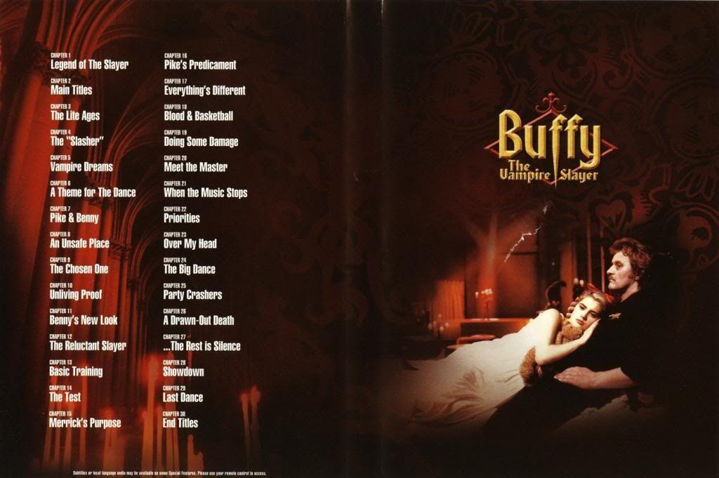 Buffy, The Vampire Slayer (1992) Kristy Swanson Buffy-DVDinside