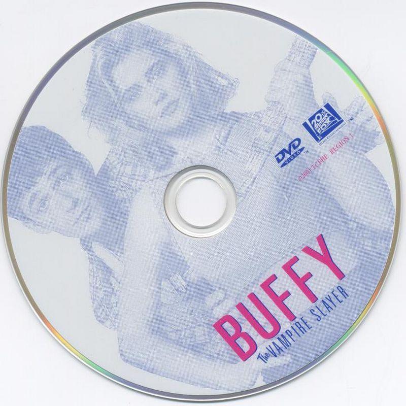 Buffy, The Vampire Slayer (1992) Kristy Swanson Buffy-DVDsticker