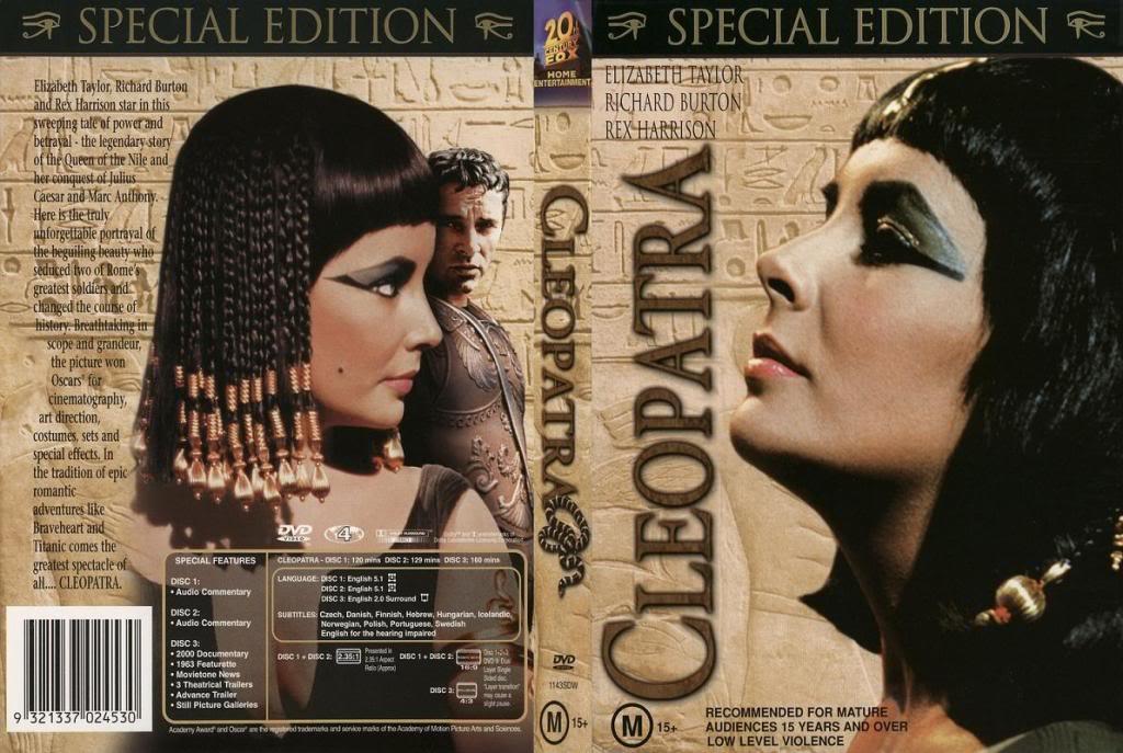 Cleopatra (1963) Elizabeth Taylor Cleopatra-1963