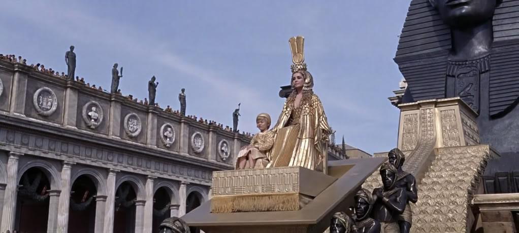 Cleopatra (1963) Elizabeth Taylor Cleopatra11