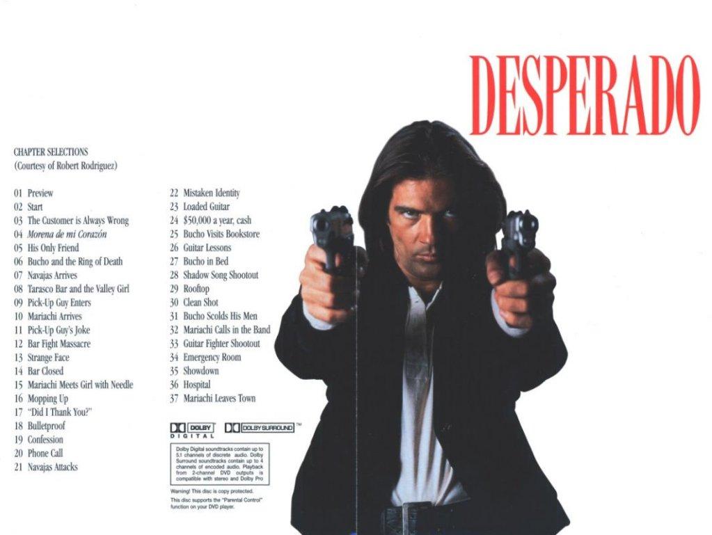 Desperado (1995) Antonio Banderas & Salma Hayek Desperado-DVDinlay1