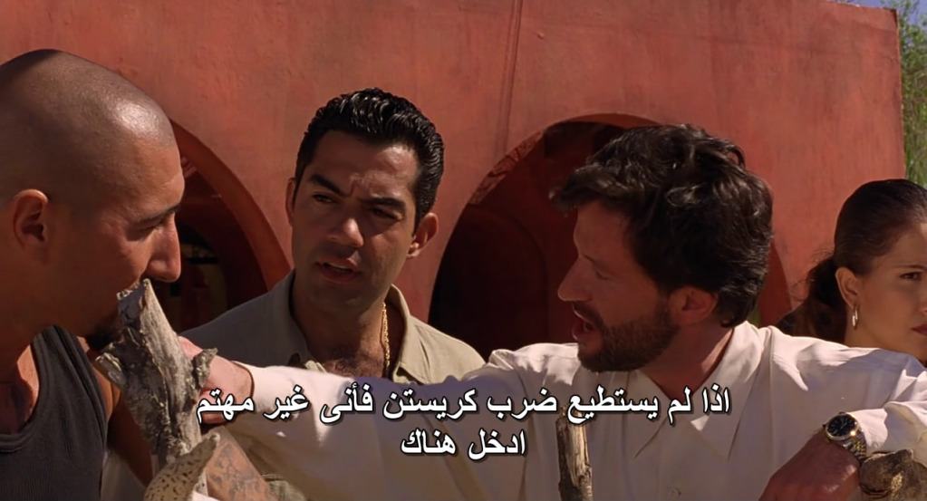 Desperado (1995) Antonio Banderas & Salma Hayek Desperado03