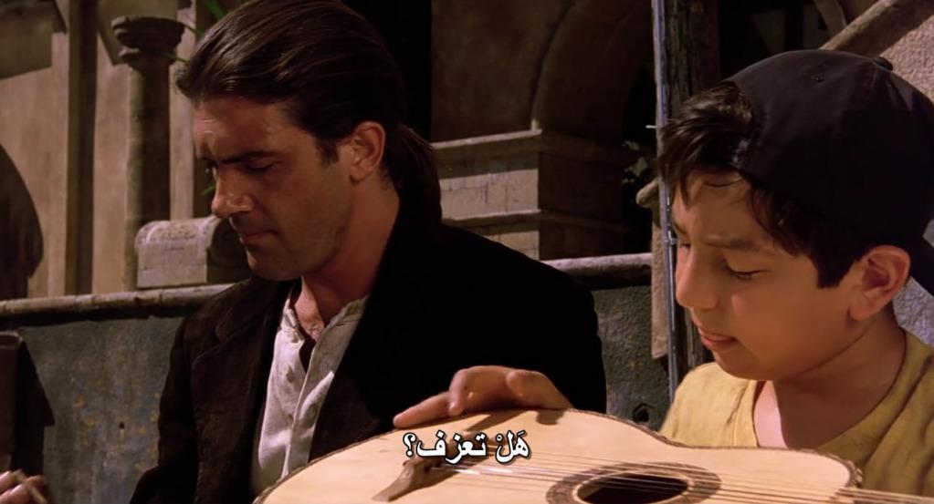 Desperado (1995) Antonio Banderas & Salma Hayek Desperado05