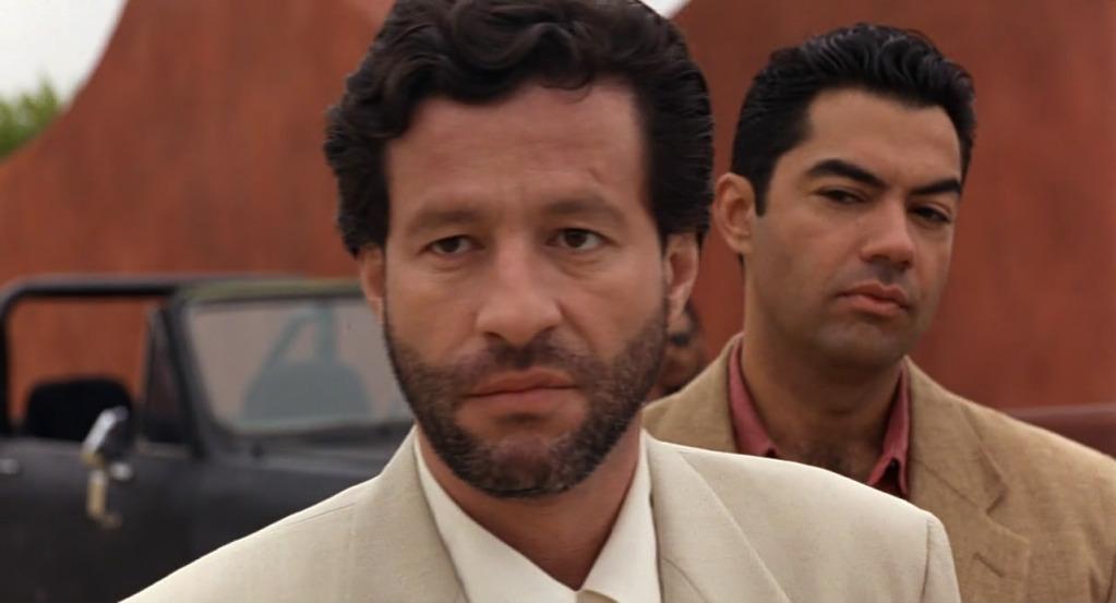 Desperado (1995) Antonio Banderas & Salma Hayek Desperado09