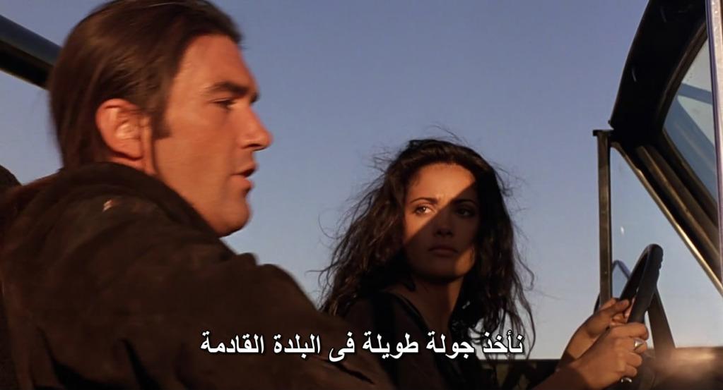 Desperado (1995) Antonio Banderas & Salma Hayek Desperado11