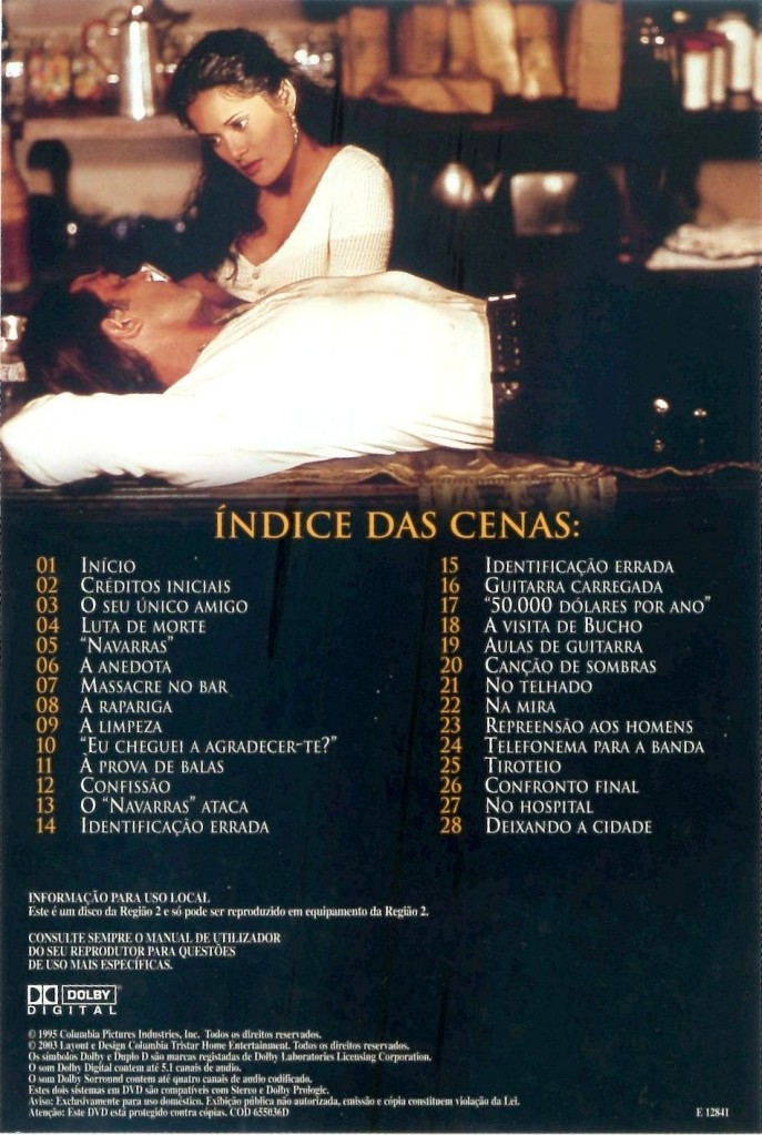 Desperado (1995) Antonio Banderas & Salma Hayek Desperado_DVDinlay2