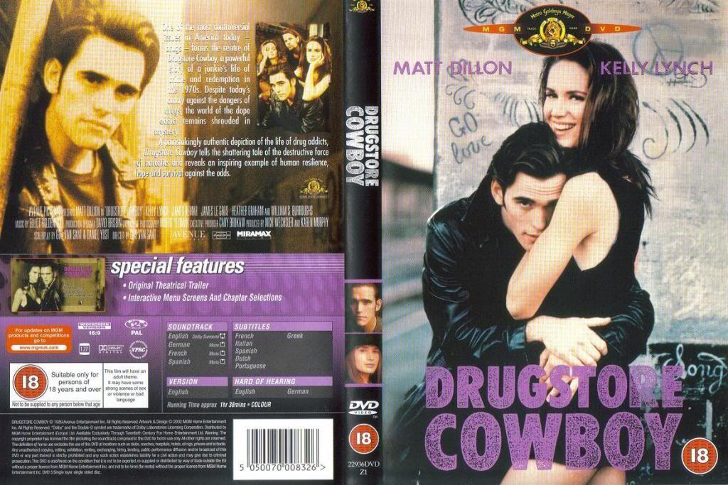 Drugstore Cowboy (1989) Gus Van Sant DrugstoreCowboy-DVDcover