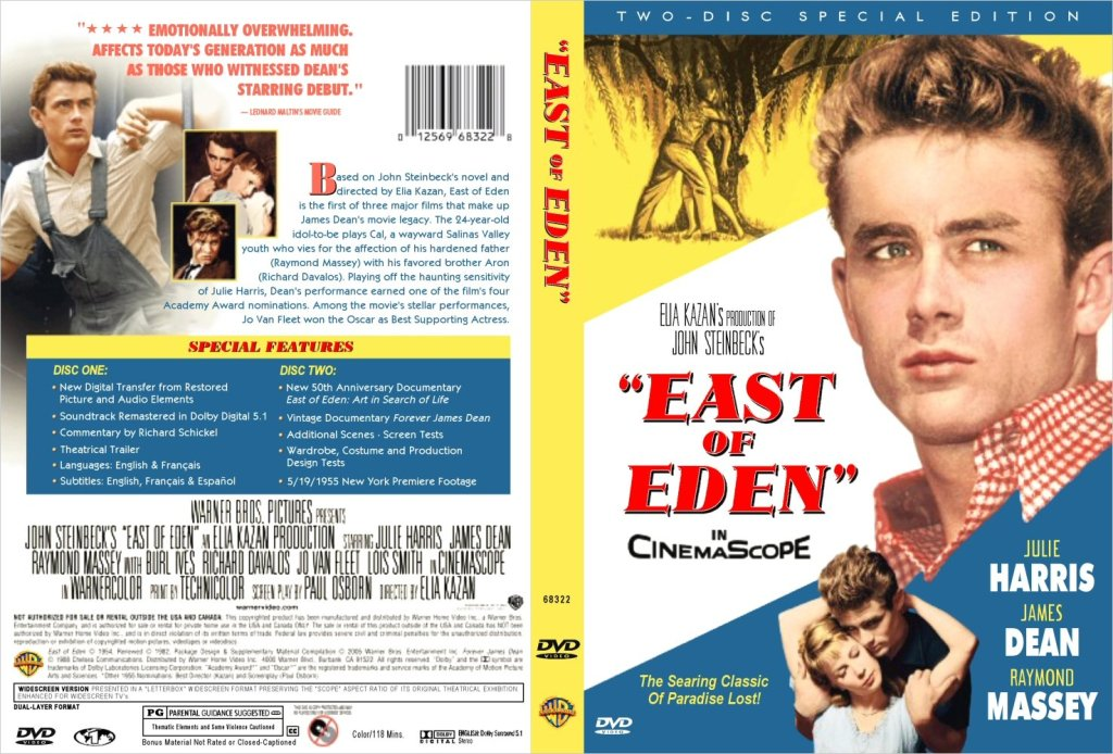 East Of Eden (1955) Elia Kazan EastOfEden-DVD