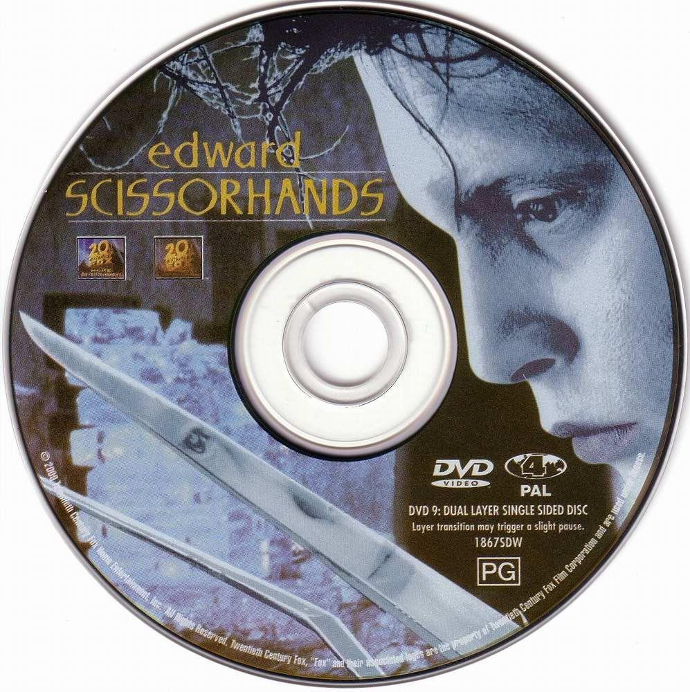 Edward Scissorhands (1990) Tim Burton Edward_Scissorhands_DVD
