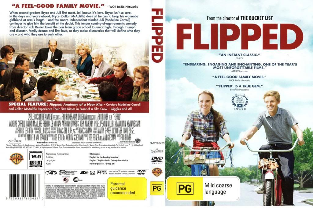 Flipped (2010) Rob Reiner Flipped-DVDCover