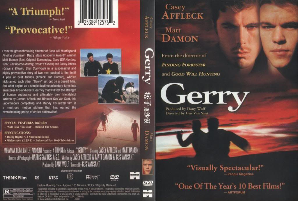 Gerry (2002) Gus Van Sant Gerry-USDVDcover