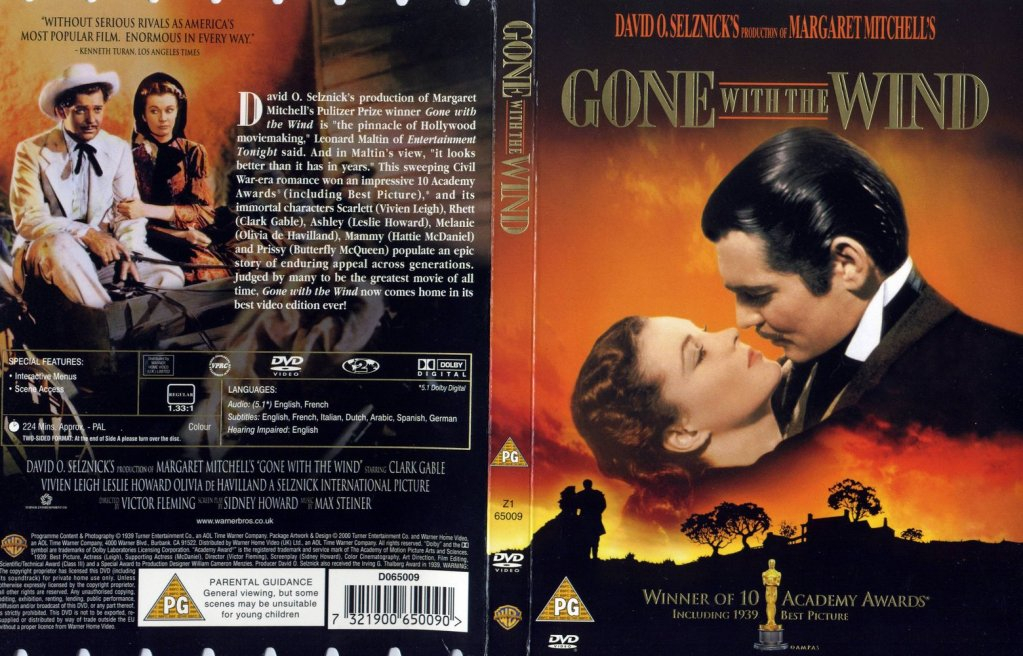 Gone With The Wind (1939) Vivien Leigh GoneWithTheWindDVDcover