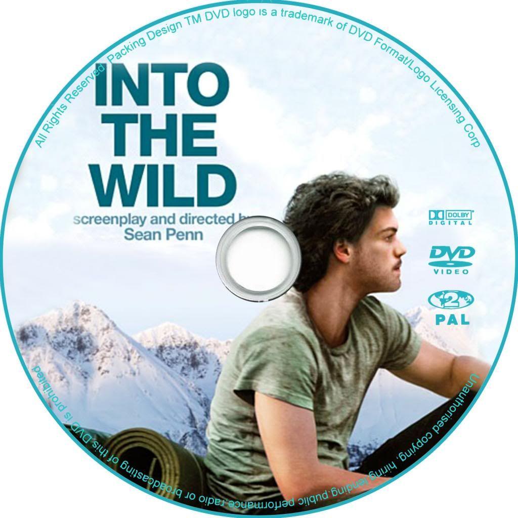 Into The Wild (2007) Emile Hirsch IntoTheWild-DVDsticker