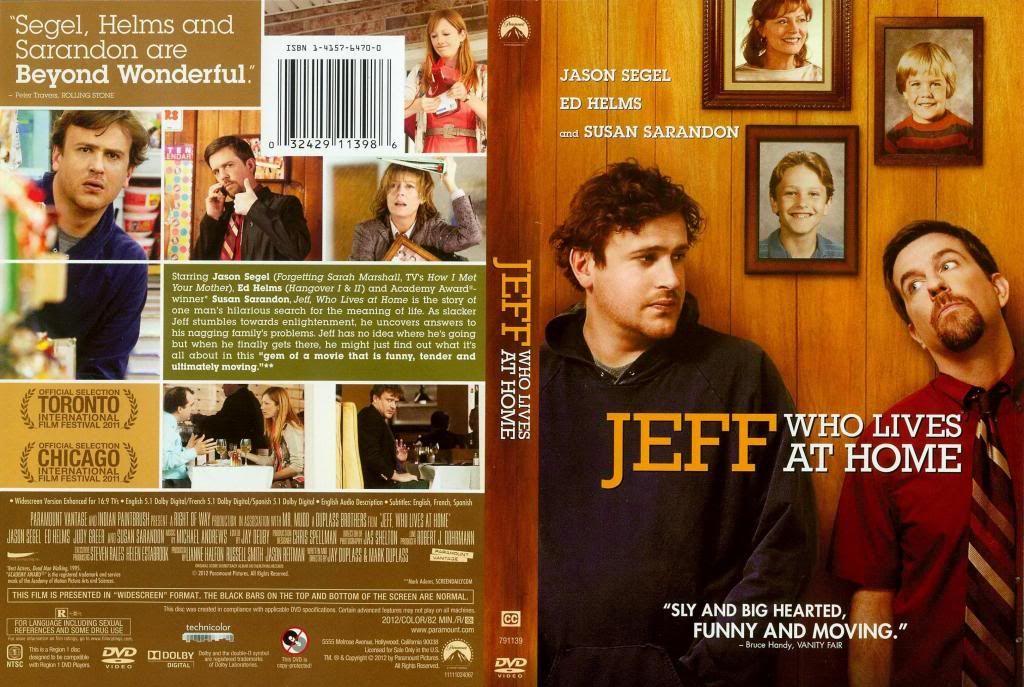 Jeff, Who Lives at Home (2011) Jason Segel JeffAtHome-DVD
