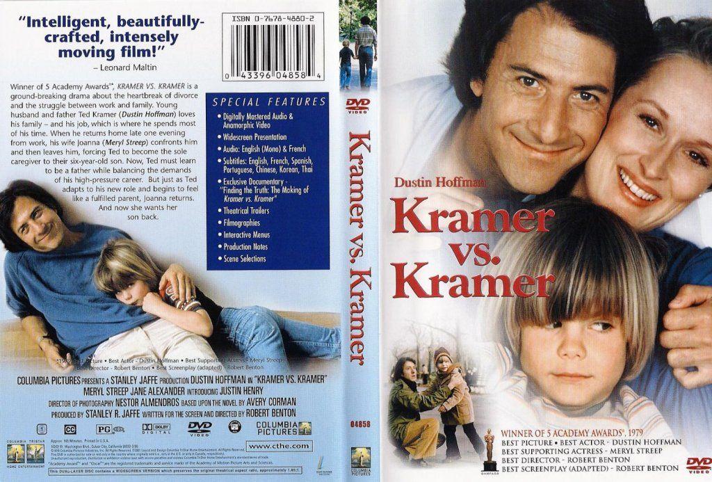 Kramer vs. Kramer (1979) 5 Oscars KramerVsKramerDVDcover