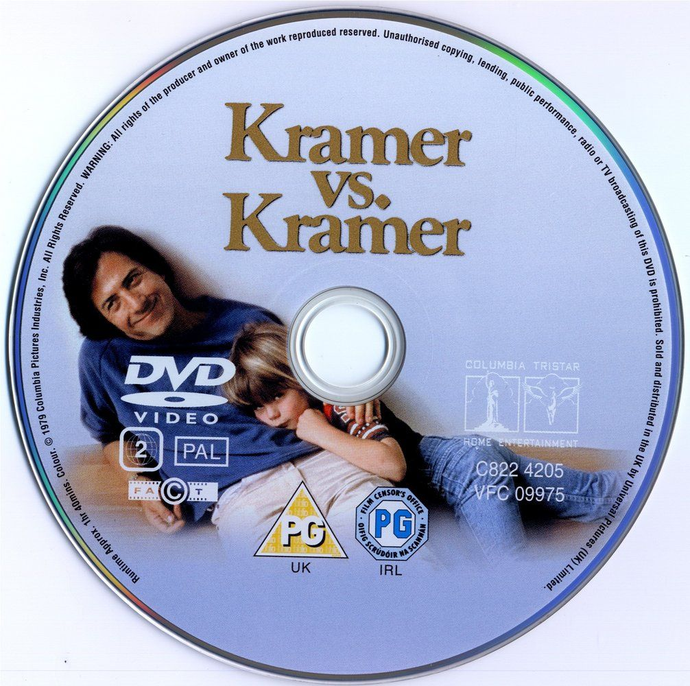 Kramer vs. Kramer (1979) 5 Oscars KramerVsKramerDVDsticker