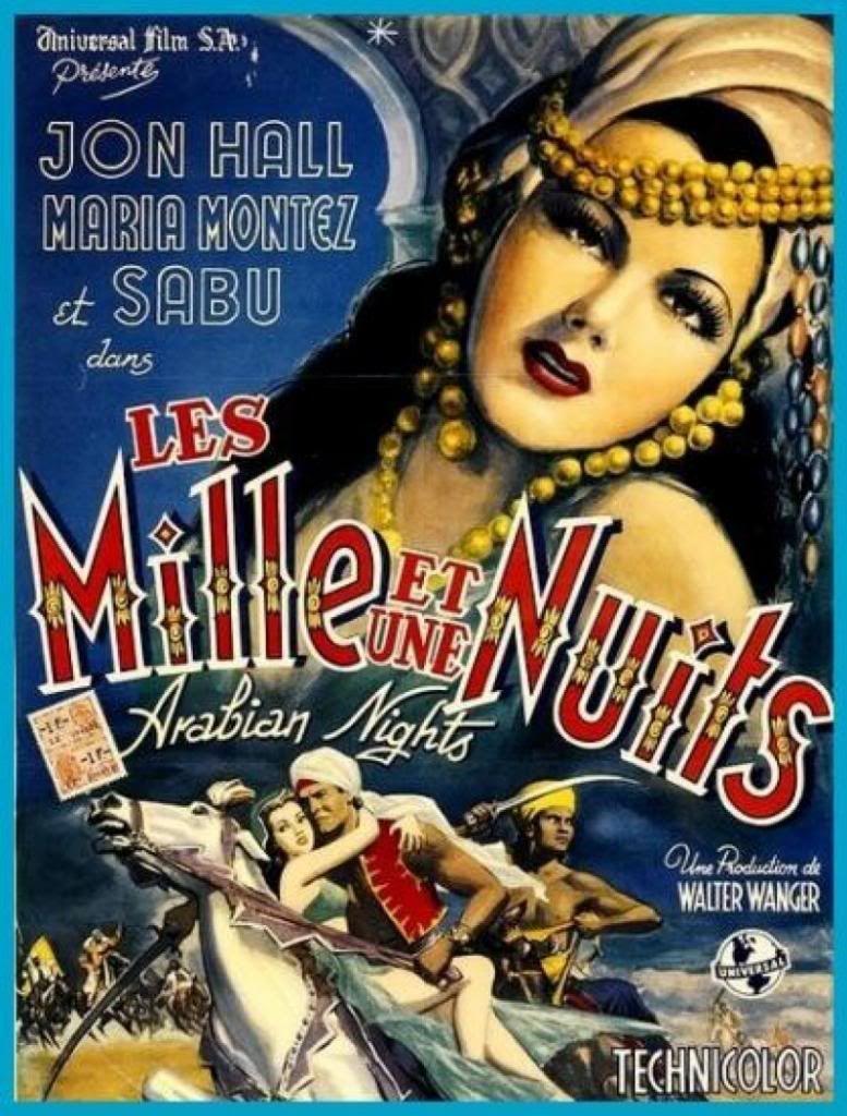 Arabian Nights (1942) Maria Montez LesMilleetuneNuits
