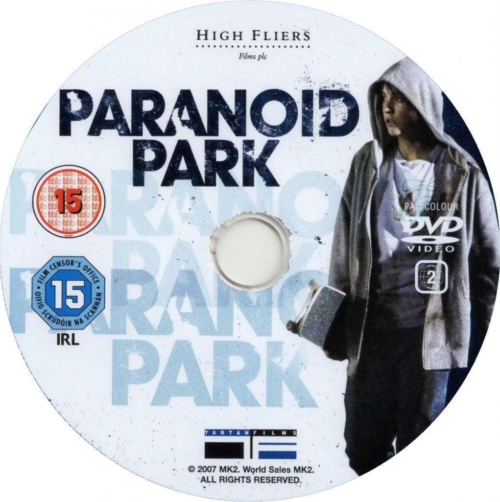Paranoid Park (2007) Gus Van Sant ParanoidPark-DVDsticker