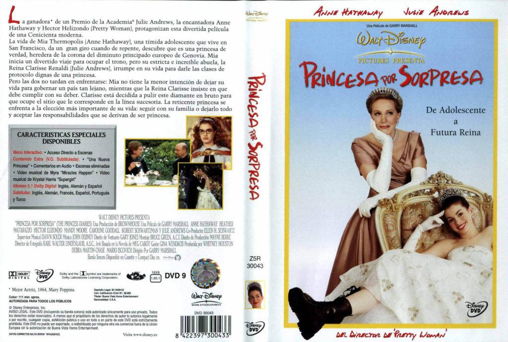 Princess Diaries Doulogy PrincessDiariesDVDcover