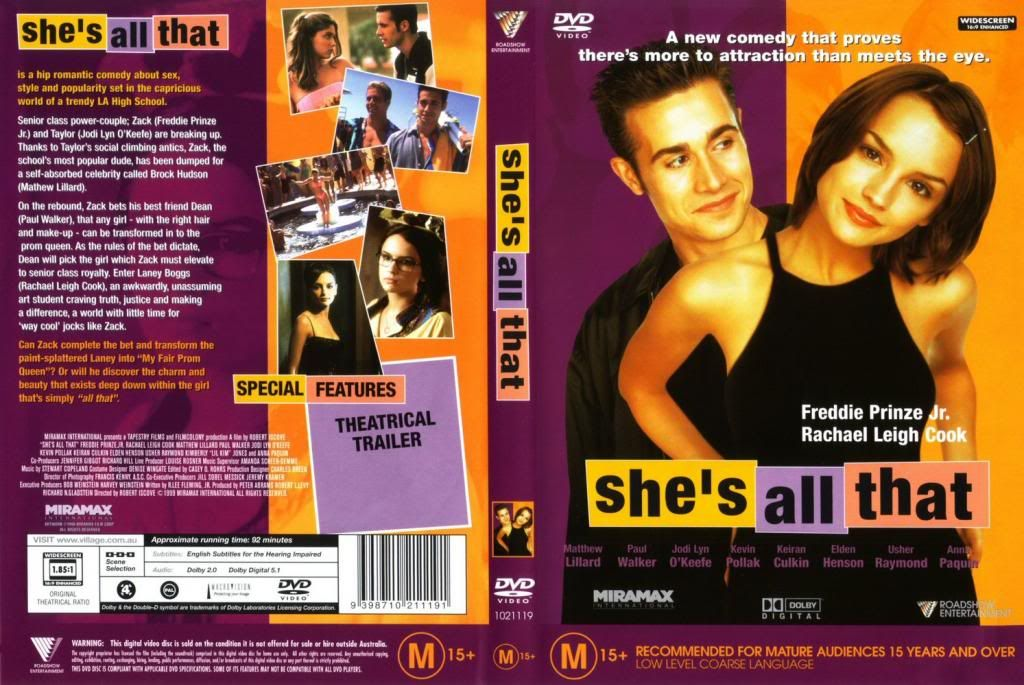 She's All That (1999) Robert Iscove ShesAllThat-DVDcover