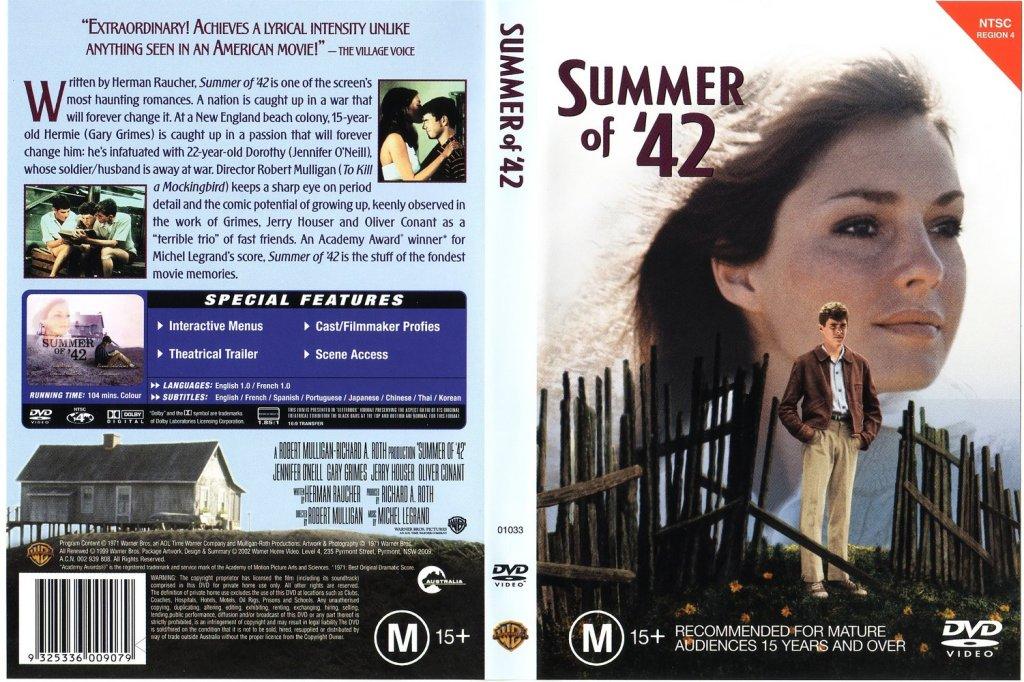 Summer of '42 (1971) Eng_Fra_x264_multisub_Soundtrack - TPB SummerOf42_AustralianDVD