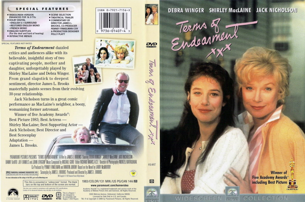 Terms Of Endearment (1983) MacLaine TermsOfEndearmentDVDcover