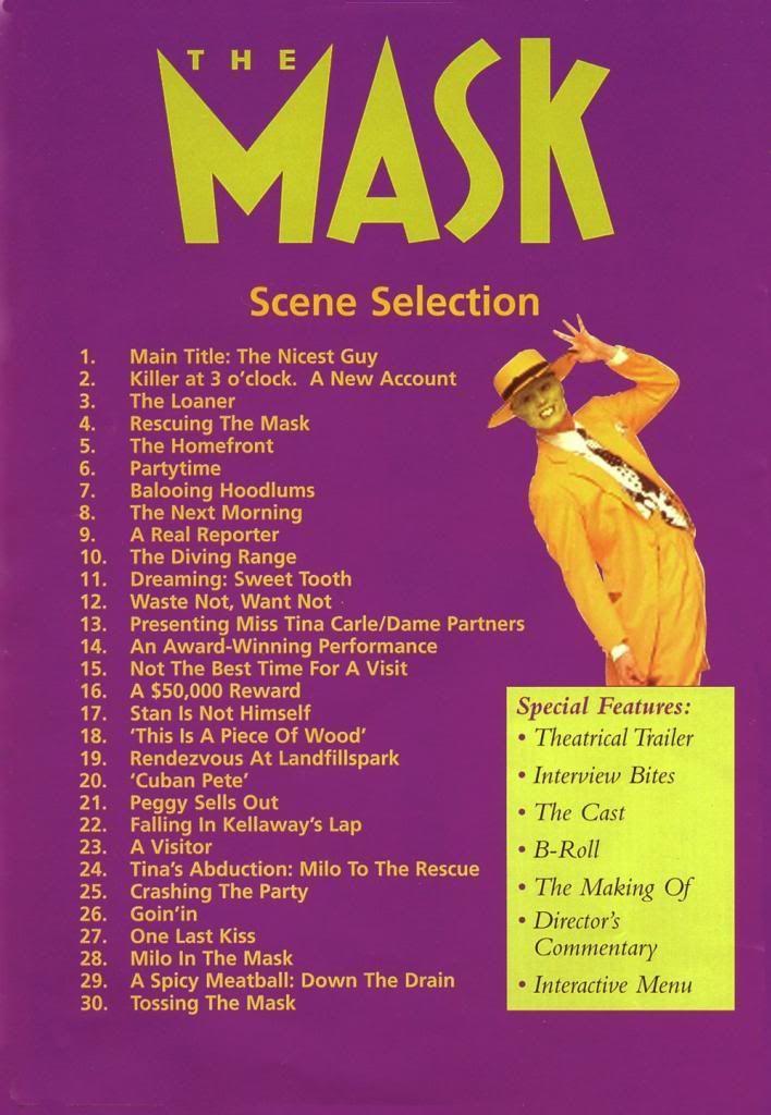 The Mask (1994) Jim Carrey TheMask-DVDinside