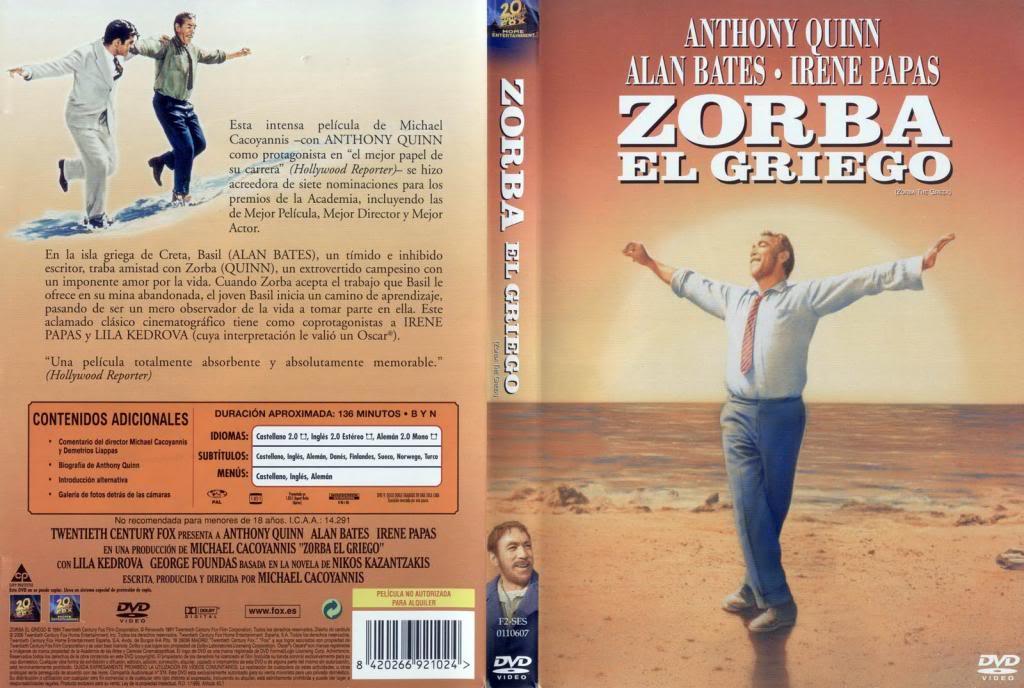 Zorba, the Greek (1964) Anthony Quinn ZorbaElGriego-DVD