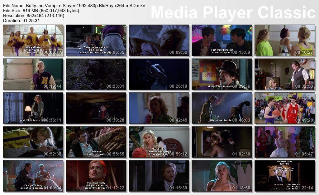 Buffy, The Vampire Slayer (1992) Kristy Swanson Thumbs-Buffy