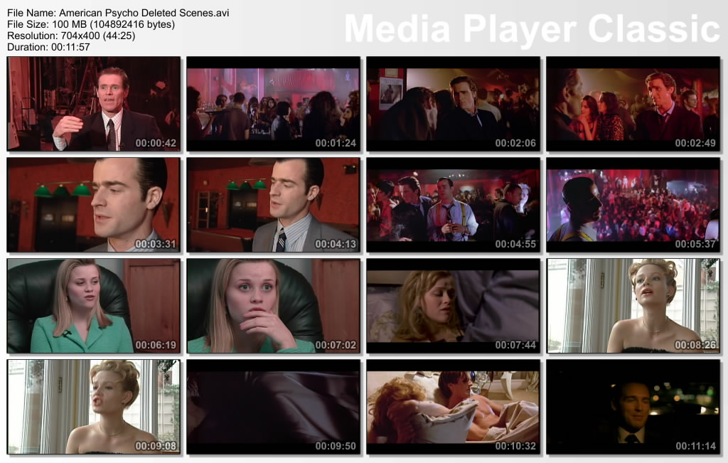 American Psycho Uncut Killer Collector's Edition COMPLETE DVD Rip by vladtepes3176 Thumbs-DeletedScenes