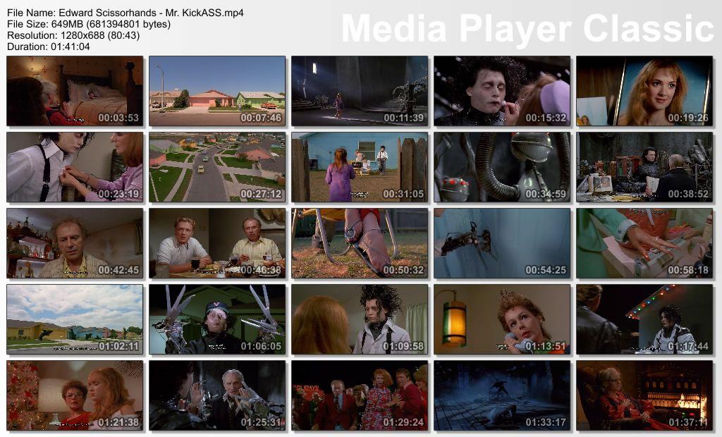 Edward Scissorhands (1990) Tim Burton Thumbs-EdScissor