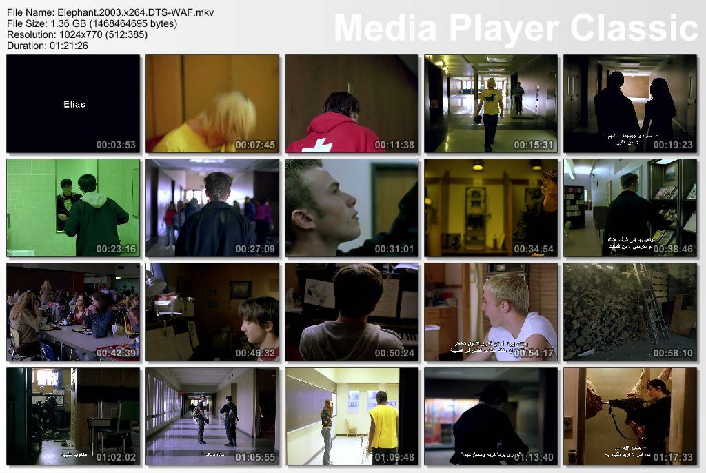 Elephant (2003) Gus Van Sant Thumbs-ElephantHD