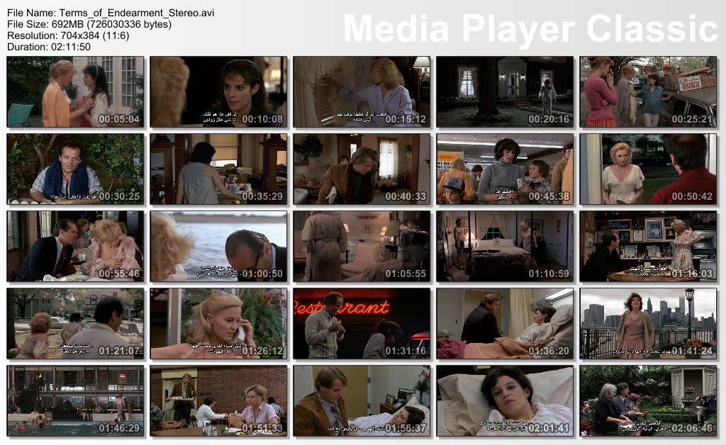 Terms Of Endearment (1983) MacLaine Thumbs-Endearment
