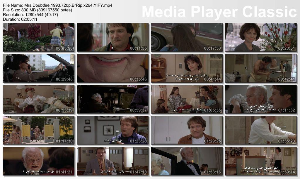 Mrs.Doubtfire (1993) Robin Williams Thumbs-MrsDoubtfireHD