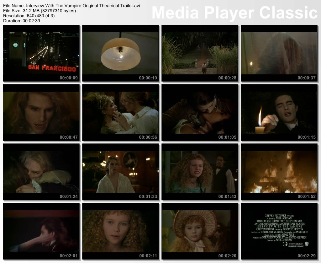 Interview with the Vampire 1994 FULL  DVD Rip by vladtepes3176 Thumbs-Trailer