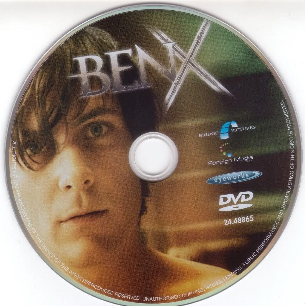 Ben X (Belgium, 2007) Nic Balthazar BenX-DVDsticker