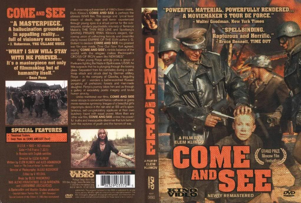 Idi I Smotri (1985) a.k.a Come & See Come_nd_SeeDVDcover