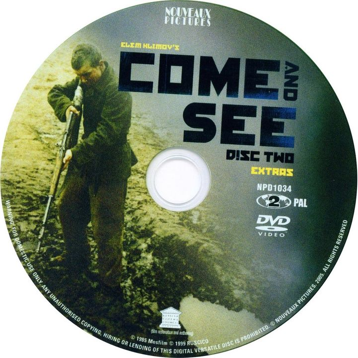 Idi I Smotri (1985) a.k.a Come & See Come_nd_SeeDVDsticker